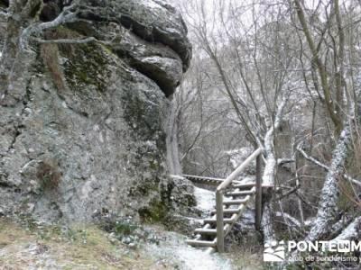 Villa de Pedraza y el Cañón del Río Cega; senderismo en girona